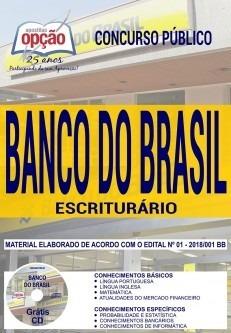 Apostila Banco Do Brasil Escriturário 2018