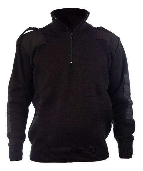 Tricota Forrada Tipo Policia - Militar Negro