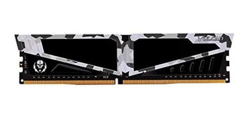 Imagem 1 de 2 de Memória RAM T-Force Vulcan Pichau color Branco  8GB 1 Team Group TLPBD48G2666HC18H01