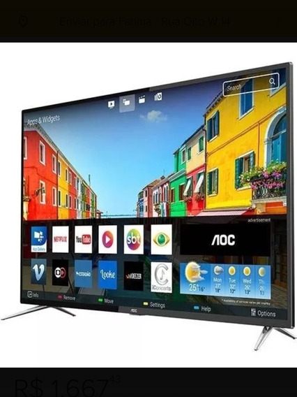 Smart Tv Led Aoc 4k 50 Polegadas Hdmi Usb Hrd