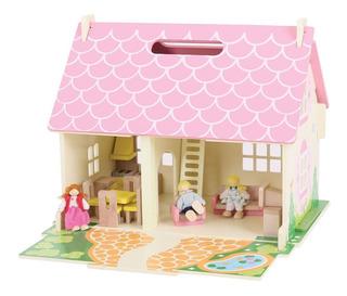 Bigjigs Toys Heritage Playset Blossom Cottage - Casa De Muñe