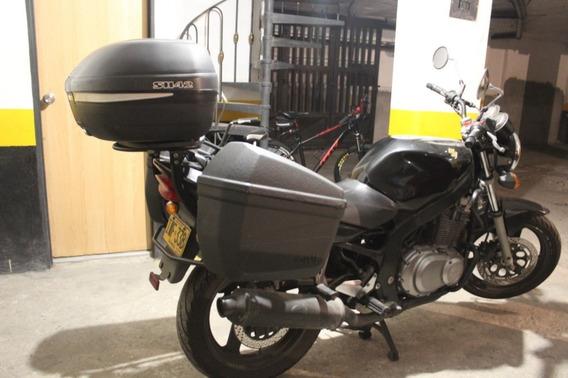 Hermosa Suzuki Gs 500 Negra Full Equipo