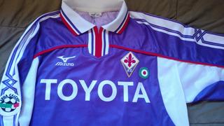Extraordinária Camisa De Jogo Fiorentina Adriano Imperador