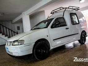 Volkswagen Caddy Furgon Diesel 2006 Blanco Cuotas $64000