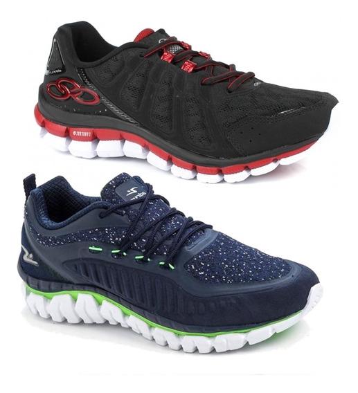 Tênis Nike, adidas, Mizuno Olympikus Direct + Adrun Duotech.