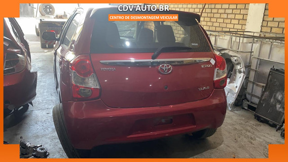 Sucata Toyota Etios 1.3 Manual