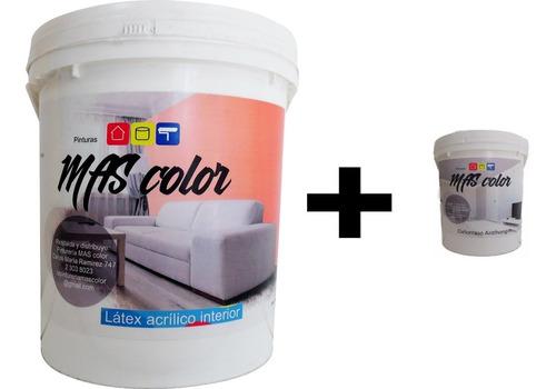 Pintura Latex Interior A/h 20lts + 4lts Cielorraso A/h