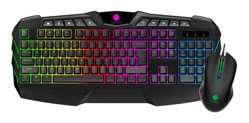 Kit Gaming Teclado + Mouse Antryx Xtreme Gc-1100 Envio Grati