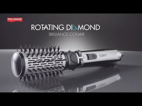 Escova Rotating Air Brush Diamond Brilliance Conair 220v