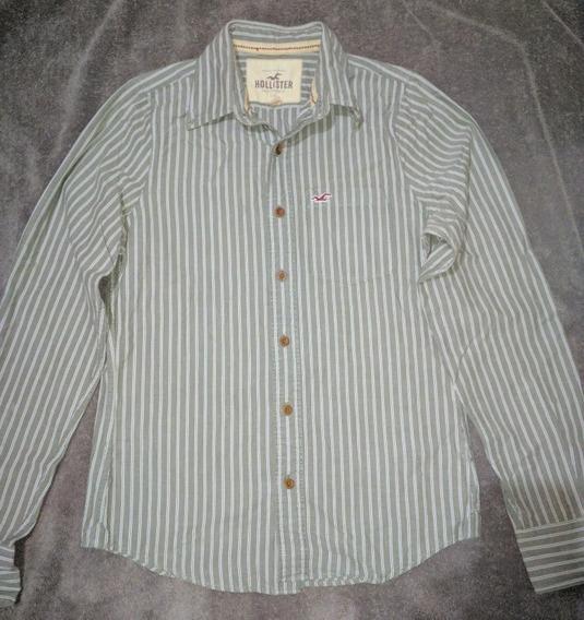 Camisa Hollister Caballero Talla S Usadas