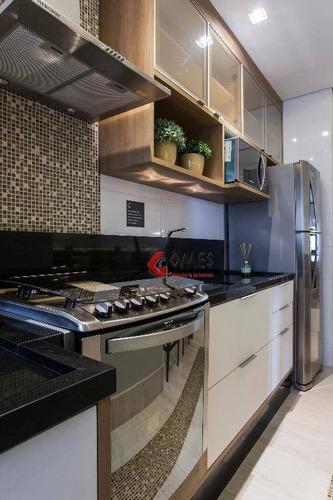 Apartamento Com 2 Dormitórios À Venda, 55 M² Por R$ 307.500,00 - Baeta Neves - São Bernardo Do Campo/sp - Ap0948