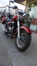 Motomel Custom 200 Con Baúles Laterales.! Excelente Estado.!