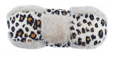 Pack 2x: Hueso Chifle Perro Animal Print C Piel 15x6.5x5.5