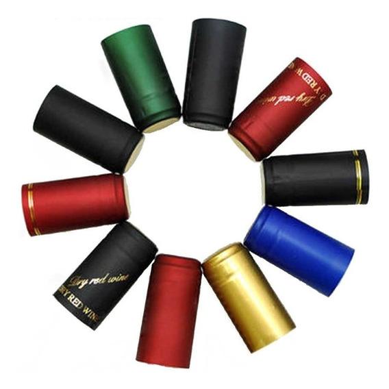 Capsulas Capuchones Termocontraible Botella Vino 3/4 (x500u)