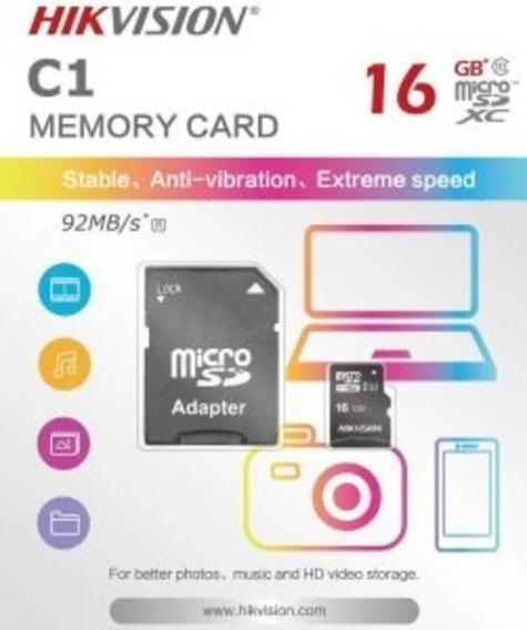 Cartão De Memória 16 Gb Hikvision