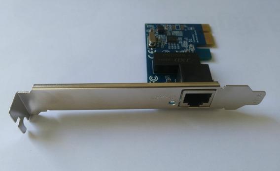 Placa De Rede Ethernet Realtek Pci-ex X1 (10/100/1000 Mbps)