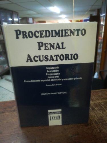 Procedimiento Penal  De Saray