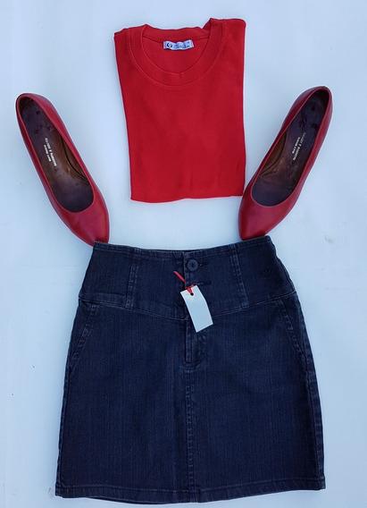 Outfit : 3 Artic : Zapatos + Falda + Remera : Oportunidad !!