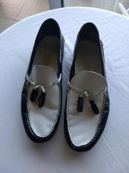 Zapatos Nauticos Correa Hecho A Mano Excelentes!!
