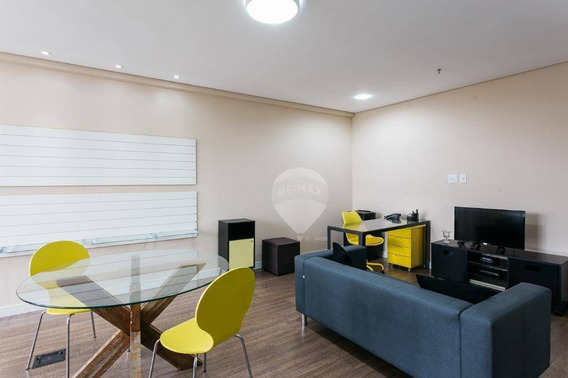 Sala À Venda, 43 M² Por R$ 430.000 - Chácara Santo Antônio (zona Sul) - São Paulo/sp - Sa0005