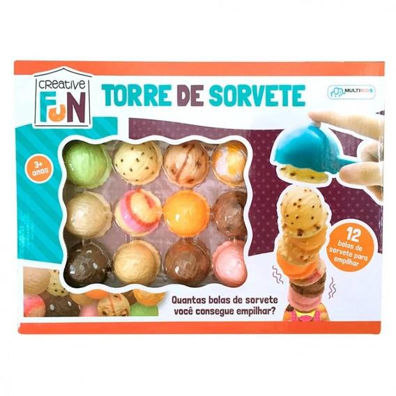 Creative Fun Torre De Sorvete Multikids Br645
