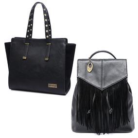 Kit 2 Bolsas Mormaii Moda Feminina Moderna Fashion Luxuosa