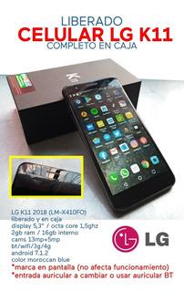 Celular LG K11 2018 Liberado En Caja
