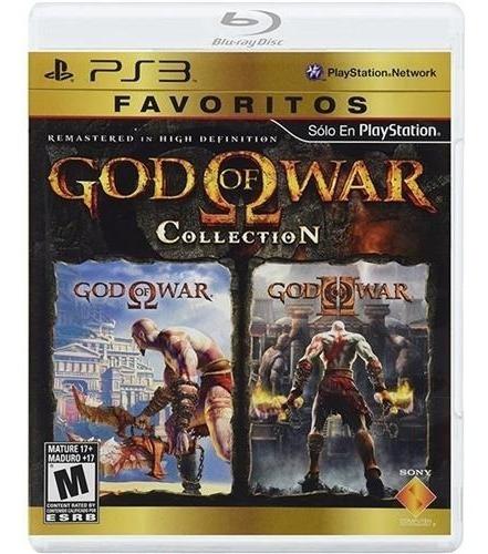 God Of War Collection (mídia Física) - Ps3