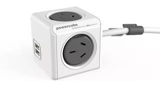 Prolongador Zapatilla Con Usb Power Cube De 3 Mts Soundgroup