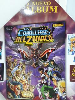 20 Laminas Album Caballeros Del Zodiaco