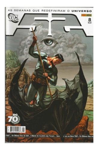 Dc 52 Vol 08 Panini 8 Quadrinhos Hqs Batman