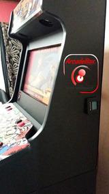 Fliperama Arcade Bartop Com Ficheiro Maquina Completa Fichas