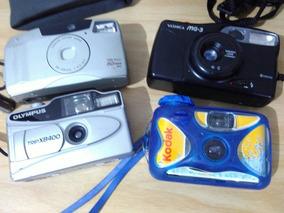 Cameras Antigas Colecionador Yashica Olympus Canon Kodak