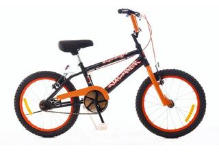 Bicicleta Walher R16 Cross Varon B8346 Negro Y Naranja