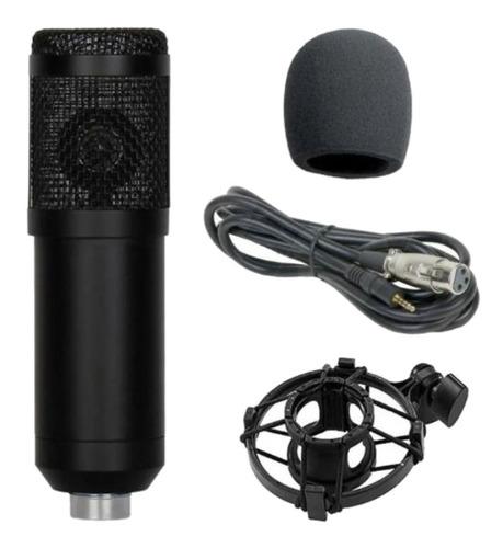 Micrófono Hügel CM800 condensador  cardioide negro