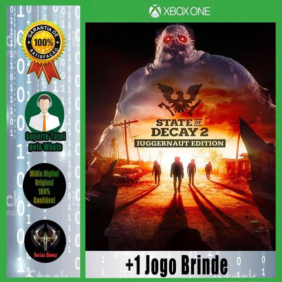 State Of Decay 2 Juggernaut Ed. Xbox One Midia Digita +1