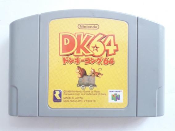 Fita Donkey Kong 64 - Nintendo 64 Japonês (leia A Descrição)