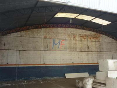 Ref 6418 Imóvel Galpão Para Fins Comerciais - 16 X 50 Metros E Moradia Limão ! - 6418
