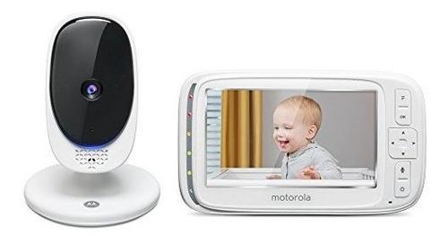 Monitor De Bebe Con Video Digital Motorola Comfort 50 Con Pa