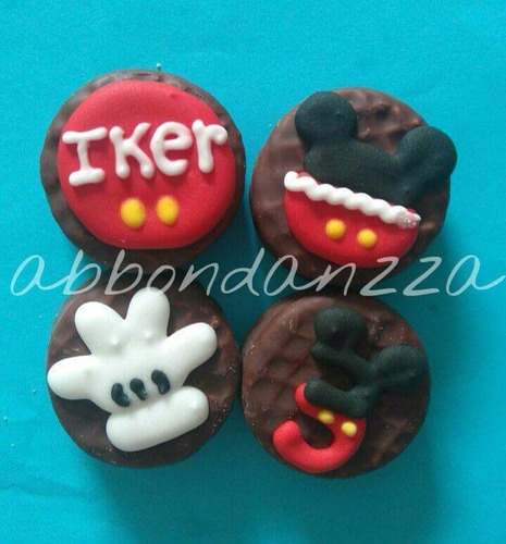 Galletas Decoradas Mickey Mouse