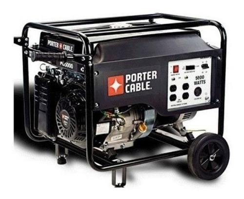 Generador Pci5000 Porter Cable A Explosion/electrico 5200w