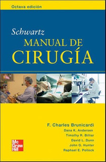 Schwartz. Manual De Cirugía 8ed