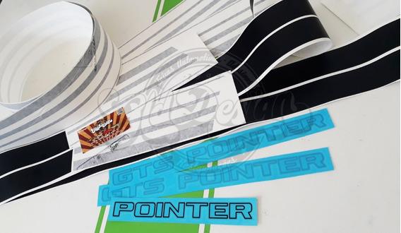 Faixa Adesivo Volks Passat Gts Pointer Estampado 3m Original