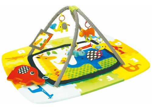 Gimnasio Bebe Infantil Baby Jungle Piso Goma Eva Zippy Toys