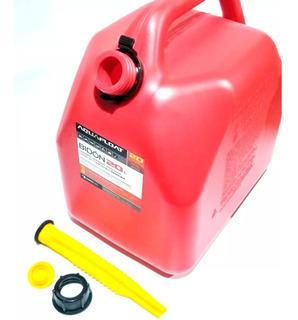 Bidón Combustible 20 Litros Con Vertedor Nafta Gasoil