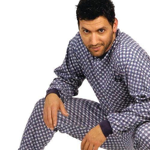Pijama Hombre Invierno Jackard Estampado Excelente Calidad!