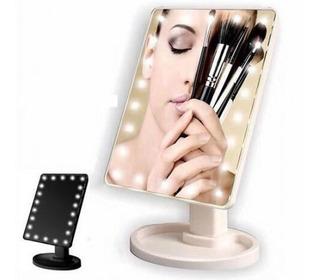 Espejo Con 22 Luces De Led Para Maquillaje Portatil