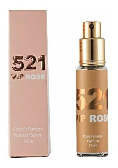 Perfume Bortoletto 521 Vip Rose 15 Ml(feminino)eau De Parfum