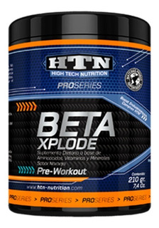Beta Xplode 210 Gr Htn Pre-workout