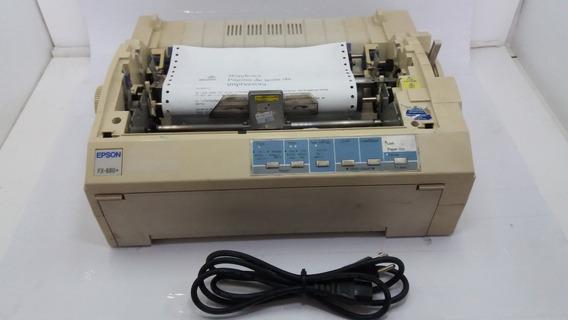 Impressora Matricial Epson Fx-880+ Usb (s/ Tampa E S/ Fita)